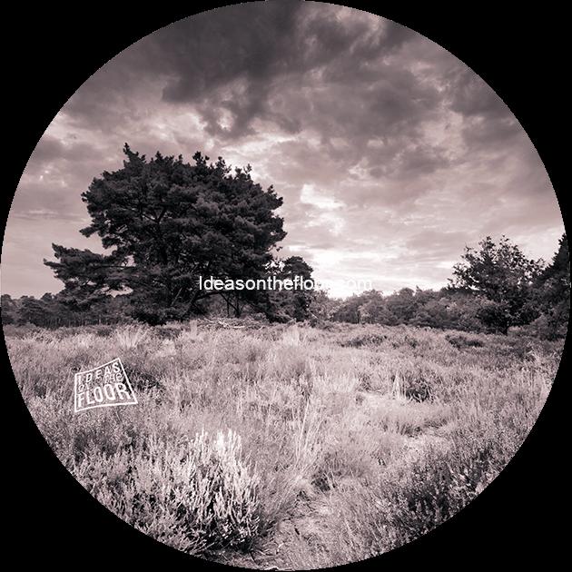 behangcirkel-heide-landschap-zwarwit-bestelnummer-664420
